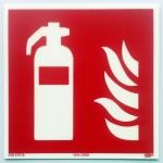 Brandschutzzeichen (150 x 150 mm) Feuerlöscher nach ASR A1.3