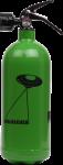 Jockel Design-Feuerlöscher - Auslöschen