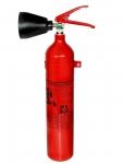 2 kg Kohlendioxid-Feuerlöscher DIN EN 3