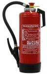 6 kg ABC Pulver Auflade-Feuerlöscher nach DIN EN 3