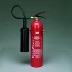 CO² - Feuerlöscher 5 kg **GLORIA KS 5 SE (Aluminium)