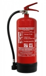 6 Liter Schaum Dauerdruck-Feuerlöscher ( 9 LE ) DIN EN 3