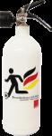 Jockel Design-Feuerlöscher - Brandschutz mit Kick