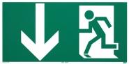Rettungszeichen Rettungsweg Notausgang nach ISO 6309