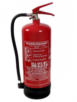 6 Liter Fettbrand Dauerdruck-Feuerlöscher DIN EN 3