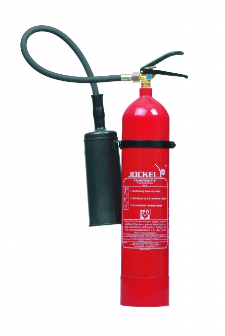 CO² - Feuerlöscher 5 kg **Jockel K5J