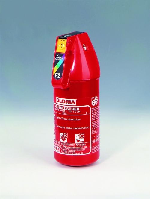 Pulverlöscher 2 kg **GLORIA F 2 G