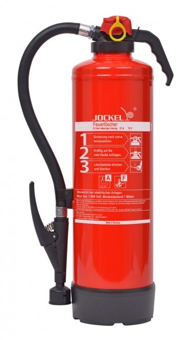 Fettbrandlöscher 6 Liter  **Jockel F 6 JX 21 - Aufladelöscher