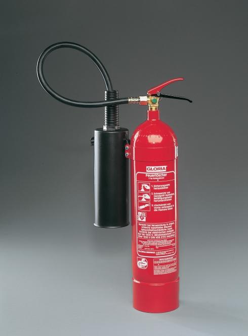 CO² - Feuerlöscher 5 kg **GLORIA KS 5 AM (antimagnetisch)