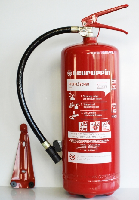 Pulverlöscher 6kg *Neuruppin PG 6 euro-S - Dauerdruck (mit Manometer)