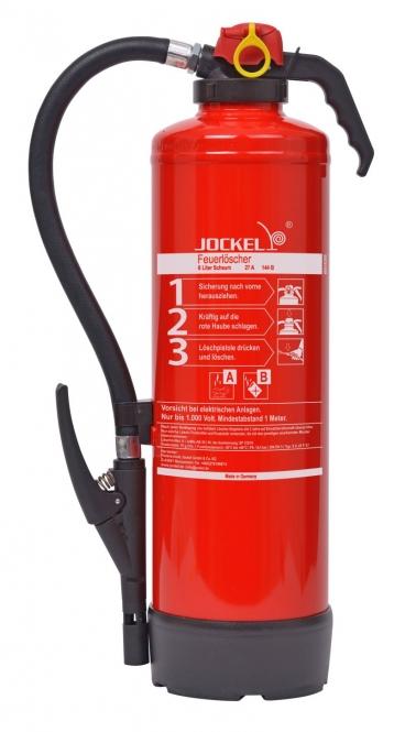 Schaumlöscher 6 Liter (frostsicher) **Jockel S 6 JX F 27 - Aufladelöscher
