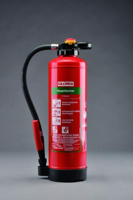 Schaumlöscher 6 Liter ** GLORIA SK 6 PRO - Aufladelöscher
