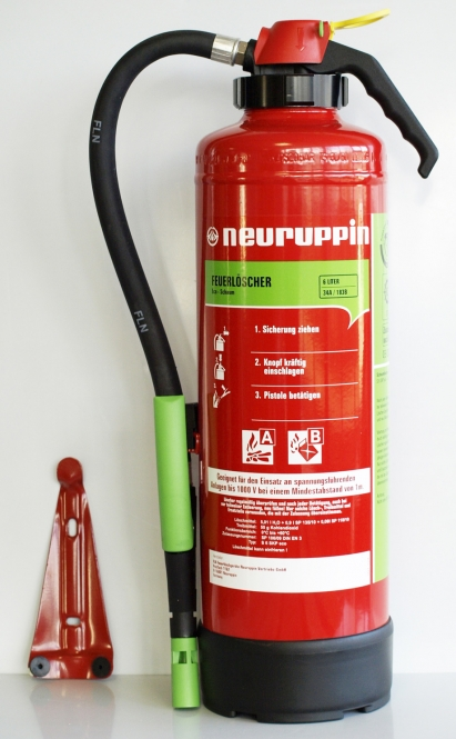 Schaumlöscher 6 Liter *Neuruppin S 6 SKP eco - Aufladelöscher