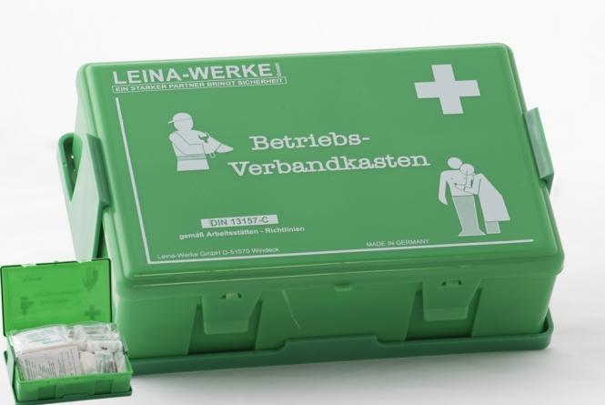 Verbandkasten für Betriebe DIN 13157-C **Leina